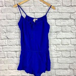 Pants - L8ter Jumper Romper Size 8 Colbert Blue Shorts